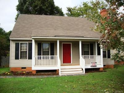 Chesterfield County Single Family Home For Sale: 1306 Robindale Road