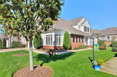 Chesterfield County Condo/Townhouse For Sale: 5318 Terrace Arbor Circle #106