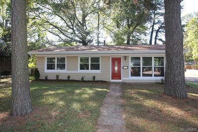 Petersburg Single Family Home For Sale: 2004 Fort Rice Street