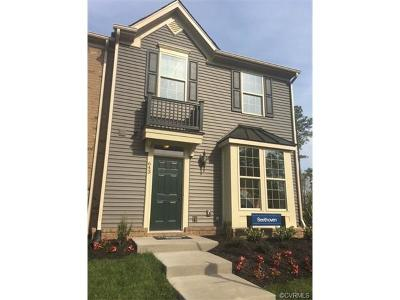 Henrico County Condo/Townhouse For Sale: 100 Cottage Rose Lane #T-B