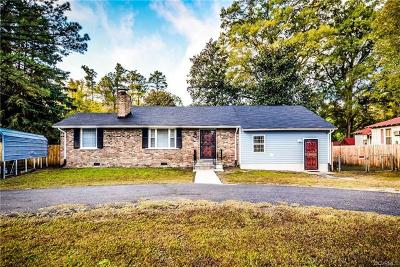 Chesterfield County Single Family Home For Sale: 4121 Hickory Road