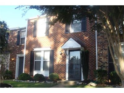 Henrico County Condo/Townhouse For Sale: 4904 Finnegan Court #4904