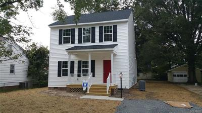 Henrico County Single Family Home For Sale: 1007 Pennsylvania Avenue