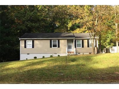 Hopewell VA Single Family Home For Sale: $125,000