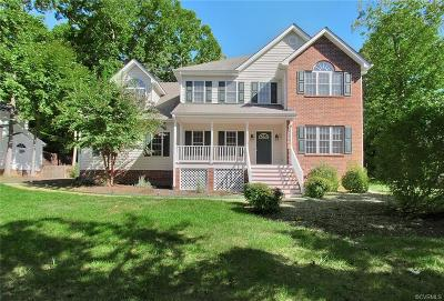 Chesterfield County Single Family Home For Sale: 8607 Hillcreek Drive