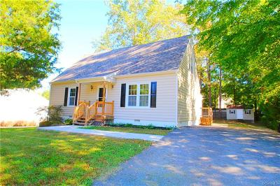 Chesterfield VA Single Family Home For Sale: $206,950