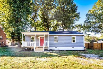 Chesterfield County Single Family Home For Sale: 2907 Sherbourne Road