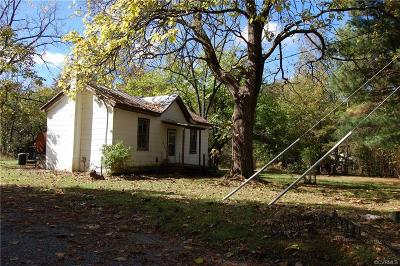 Gum Spring VA Single Family Home For Sale: $49,900