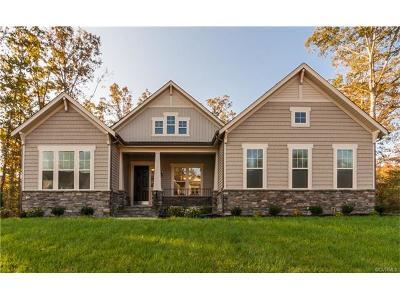 Midlothian Single Family Home For Sale: 15801 West Millington Drive