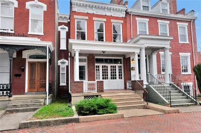 Richmond Single Family Home For Sale: 19 West Clay Street