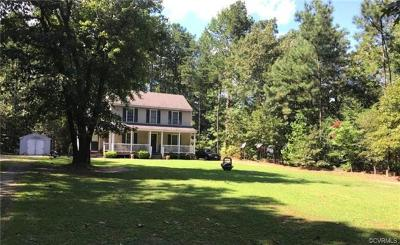King William County Single Family Home For Sale: 998 Commins Road