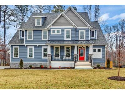 Midlothian Single Family Home For Sale: 15618 Willowmore Drive