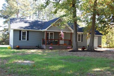 Amelia VA Single Family Home For Sale: $224,000