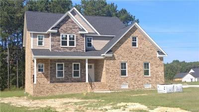 Prince George VA Single Family Home For Sale: $359,900