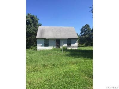 Powhatan VA Single Family Home For Sale: $65,000