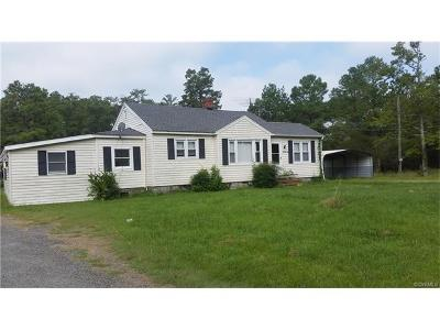 White Stone VA Single Family Home For Sale: $289,500