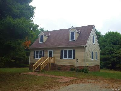 Mechanicsville Single Family Home For Sale: 6454 Mary Esther Lane