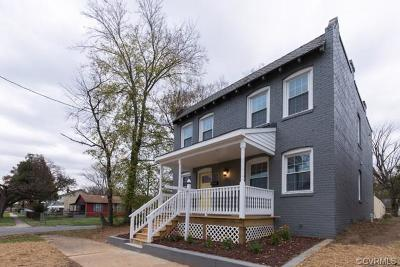 Richmond Single Family Home For Sale: 1321 North 32nd Street