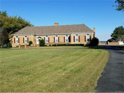 Tappahannock VA Single Family Home For Sale: $769,000