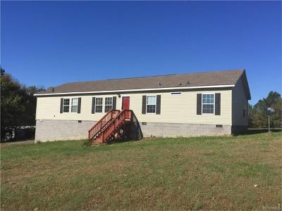 Jetersville VA Single Family Home For Sale: $179,950