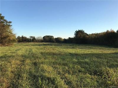 Nottoway County Residential Lots & Land For Sale: Snead Spring