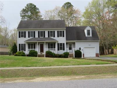 South Chesterfield Single Family Home For Sale: 1725 Southcreek Drive