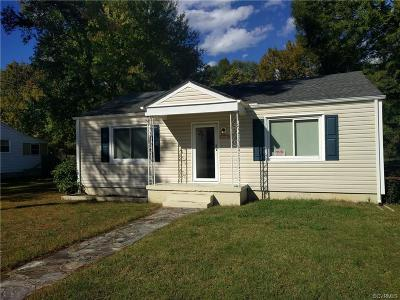 South Chesterfield Single Family Home For Sale: 5718 Beechnut Avenue