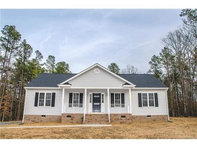 Aylett Single Family Home For Sale: 00 Pine Haven Road