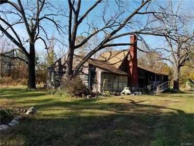 Dewitt VA Single Family Home For Sale: $215,000