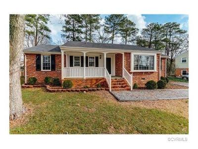 Henrico Rental For Rent: 1607 Hollandale Road