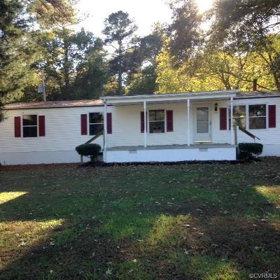 Dinwiddie Single Family Home For Sale