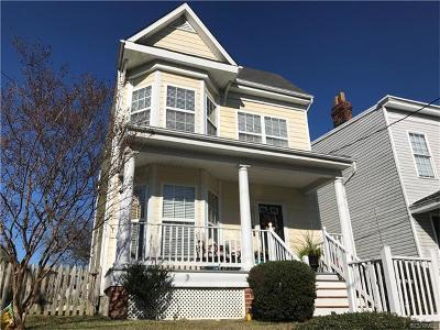 Richmond Single Family Home For Sale: 1114 North 23rd Street