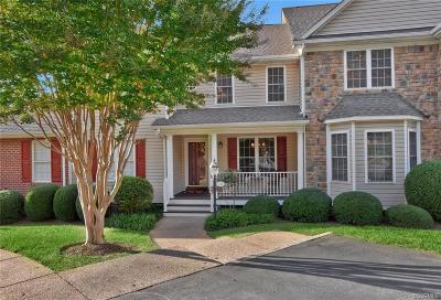 Midlothian Condo/Townhouse For Sale: 1318 Lake Rest Circle #1318