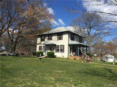 Amelia Courthouse VA Single Family Home For Sale: $125,000
