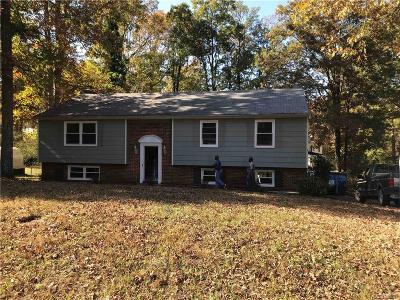 Chester Single Family Home For Sale: 12912 Middlebrook Road