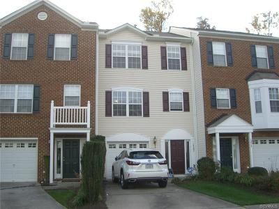 Chesterfield County Condo/Townhouse For Sale: 13507 Ridgemoor Drive