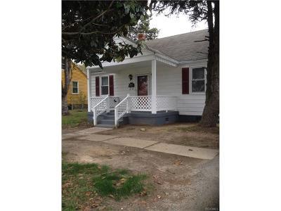 Richmond Single Family Home For Sale: 1015 Williamsburg Road