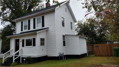 Hopewell VA Single Family Home Sold: $83,500