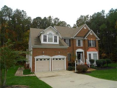 Henrico Single Family Home For Sale: 11713 Shadow Run Lane