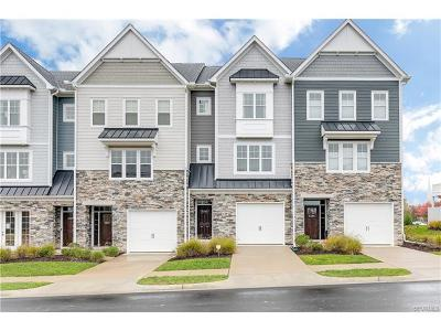 Glen Allen Condo/Townhouse For Sale: 5243 Bedford Falls Circle #5243