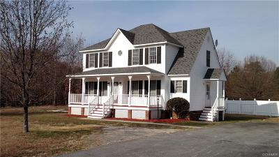 Prince George VA Single Family Home For Sale: $214,950