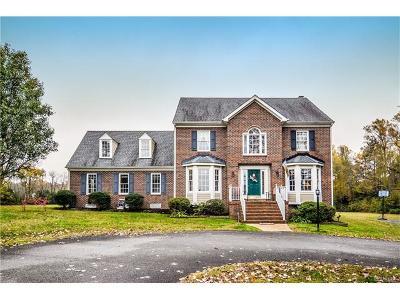Mechanicsville Single Family Home For Sale: 5229 Pole Green