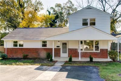 Henrico Single Family Home For Sale: 2319 Williams Street