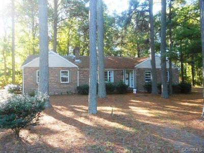 Petersburg Single Family Home For Sale: 426 Hoke Drive