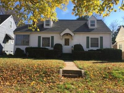 Richmond Single Family Home For Sale: 609 North 38th Street