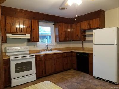 Prince George VA Single Family Home For Sale: $134,900