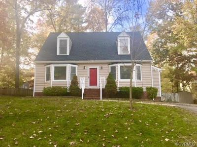Henrico Single Family Home For Sale: 9355 Crystal Brook Terrace