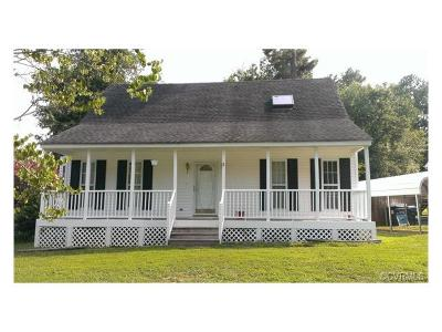 Chesterfield VA Single Family Home For Sale: $145,000