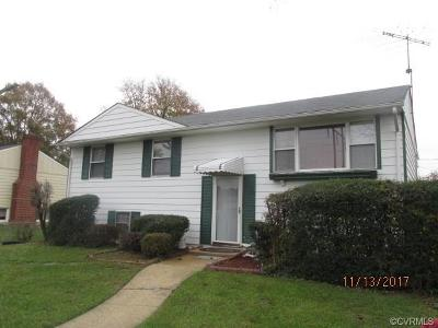 Richmond Single Family Home For Sale: 4819 Altair Road