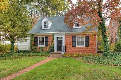 Richmond Single Family Home For Sale: 1009 West 48th Street
